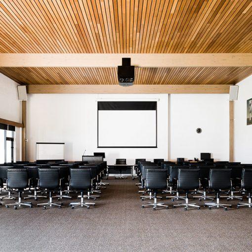 Geelong Conference Room set up for presentation